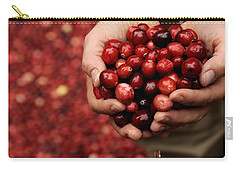 Handful Of Fresh Cranberries Carry-all Pouch