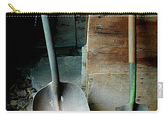 Carry-all Pouch featuring the photograph Handled And Raked by Christiane Hellner-OBrien
