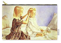 Hands Of Devotion - Childhood Carry-all Pouch