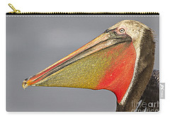 Carry-all Pouch featuring the photograph Handsome In Red by Bryan Keil
