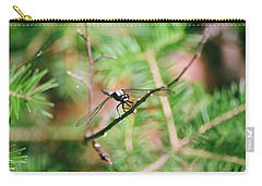 Carry-all Pouch featuring the photograph Hangin' Out by David Porteus
