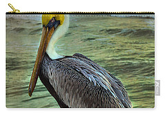 Carry-all Pouch featuring the photograph Hanging Around by Steven Reed