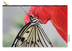 Carry-all Pouch featuring the photograph Hanging On #2 by Judy Whitton