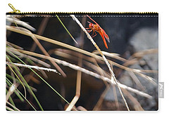 Carry-all Pouch featuring the photograph Hanging On by Michele Myers