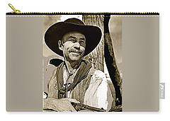 Hank Worden Publicity Photo Red River 1948-2013 Carry-all Pouch