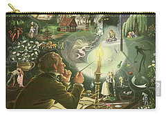 Hans Christian Andersen Carry-all Pouch by Anne Grahame Johnstone