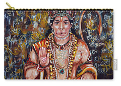 Hanuman Carry-all Pouch by Harsh Malik