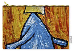 Carry-all Pouch featuring the painting Happiness 12-004 by Mario Perron