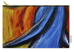 Carry-all Pouch featuring the painting Happiness 12-005 by Mario Perron