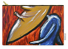 Carry-all Pouch featuring the painting Happiness 12-006 by Mario Perron