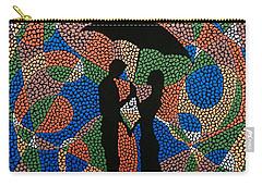 Black Umbrella Carry-all Pouch