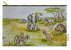 Happy Africa Carry-all Pouch