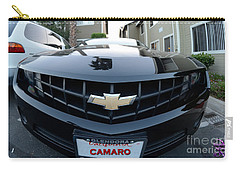 Carry-all Pouch featuring the photograph Happy Camero by Clayton Bruster