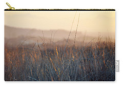 Carry-all Pouch featuring the photograph Happy Camp Canyon Magic Hour by Kyle Hanson