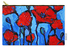 Happy Coquelicots Carry-all Pouch