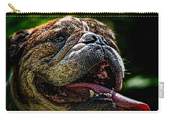 Happy Dog Carry-all Pouch by Bob Orsillo