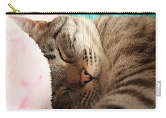 Carry-all Pouch featuring the photograph Happy Dreams by Amy Gallagher
