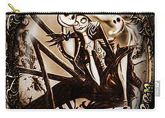 Happy Halloween IIi Sepia Version Carry-all Pouch