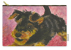 Happy Carry-all Pouch by Jeanne Fischer