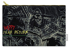 Happy Solar Return 470 Carry-all Pouch by Cleaster Cotton