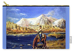 Happy Trails Carry-all Pouch by Bernadette Krupa