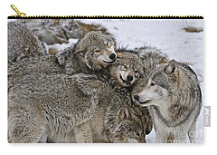 Happy Wolf Pack Carry-all Pouch