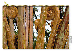 Carry-all Pouch featuring the photograph Hapu'u Fern Fronds by Lehua Pekelo-Stearns