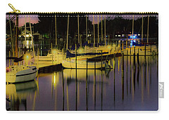 Harbor At Night Carry-all Pouch