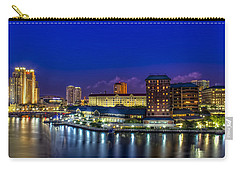 Harbor Island Nightlights Carry-all Pouch by Marvin Spates