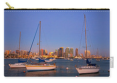 Harbor Sailboats Carry-all Pouch