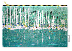 Harbor Shores Carry-all Pouch by George Riney