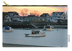Harbor Sunset Carry-all Pouch by Denyse Duhaime