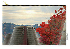 Harborside Fountain Park Carry-all Pouch by E Faithe Lester