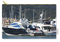 Carry-all Pouch featuring the photograph Harbour Docking Scene by Rogerio Mariani