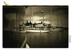 Carry-all Pouch featuring the photograph Harbour Life by Micki Findlay