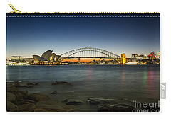 Harbour Night Carry-all Pouch by Andrew Paranavitana