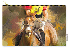Hard Left Carry-all Pouch by Joan Davis