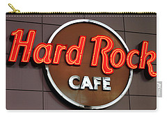 Hard Rock Cafe Sign Carry-all Pouch