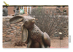Hare In Santa Fe Carry-all Pouch