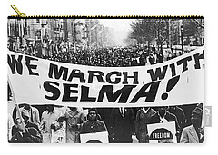 Harlem Supports Selma Carry-all Pouch by Stanley Wolfson