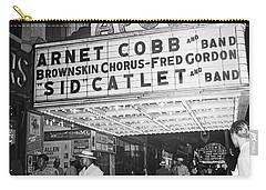 Harlem's Apollo Theater Carry-all Pouch by Underwood Archives Gottlieb