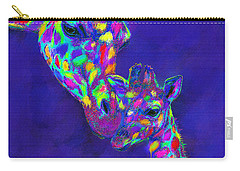 Harlequin Giraffes Carry-all Pouch