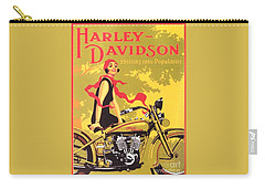 Harley Davidson 1927 Poster Carry-all Pouch