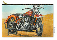 Harley Davidson Knucklehead Carry-all Pouch