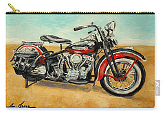 Harley Davidson Panhead Carry-all Pouch