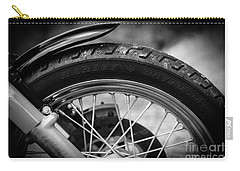 Harley Davidson Tire Carry-all Pouch by Carsten Reisinger
