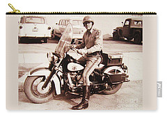 Harley Rider Carry-all Pouch by Pg Reproductions