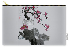 Carry-all Pouch featuring the photograph Harmony And Beauty by Yufeng Wang