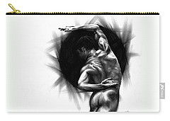 Carry-all Pouch featuring the drawing Harmony by Paul Davenport