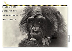 Harmony With Nature Carry-all Pouch by Dan Sproul